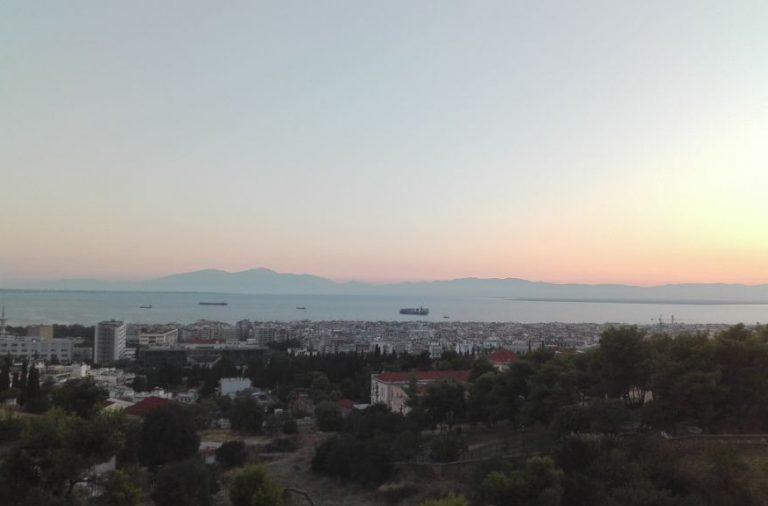 Η Θεσσαλονίκη από ψηλά