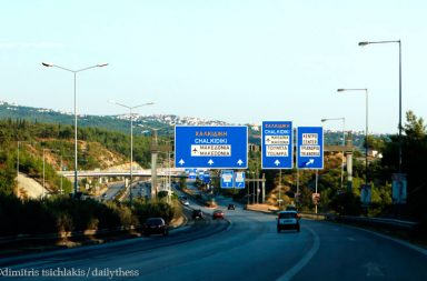 102d155ece Εργασίες συντήρησης στην περιφερειακή οδό Θεσσαλονίκης