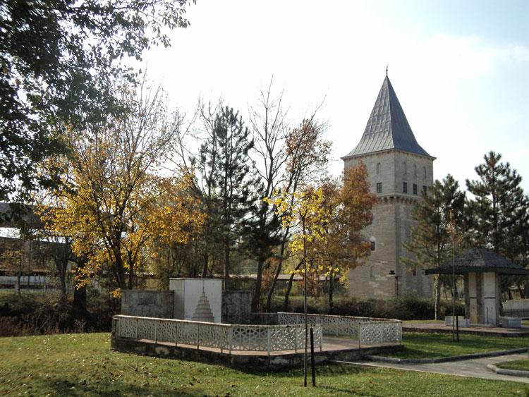 Αδριανούπολη, ο Πύργος της Δικαιοσύνης, στην περιοχή του παλιού Σαραγιού